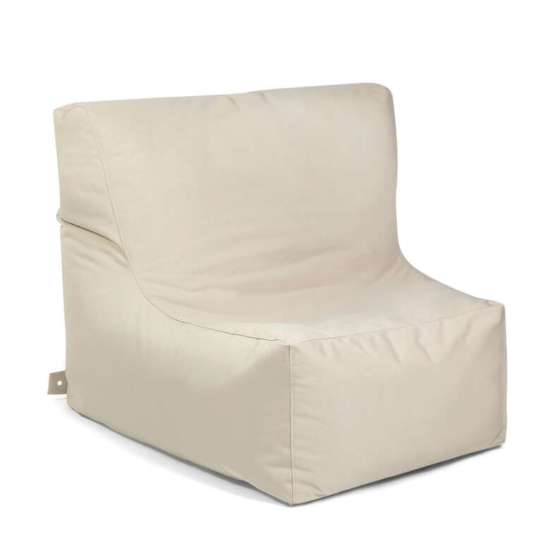 Stupendous Outbag Zitzak Zitstoel Lounge Chair Beanbag Peace Plus Beige Andrewgaddart Wooden Chair Designs For Living Room Andrewgaddartcom