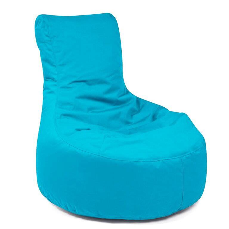 Admirable Outbag Zitzak Zitstoel Lounge Chair Beanbag Slope Plus Aqua Andrewgaddart Wooden Chair Designs For Living Room Andrewgaddartcom