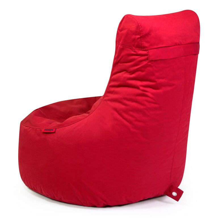 Strange Outbag Zitzak Zitstoel Lounge Chair Beanbag Slope Plus Red Andrewgaddart Wooden Chair Designs For Living Room Andrewgaddartcom