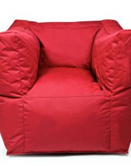 outbag zitzak zitstoel lounge chair beanbag valley plus red the outdoor company 4