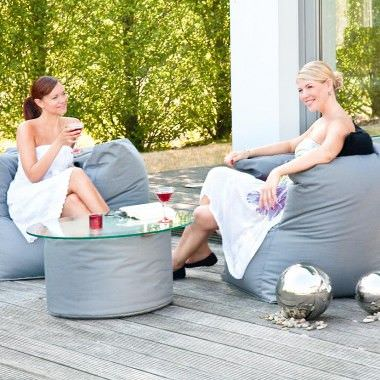 Sit In Pool Zitzak.Outbag Zitzak Valley Rock Fabric Anthra Pool Wellness The